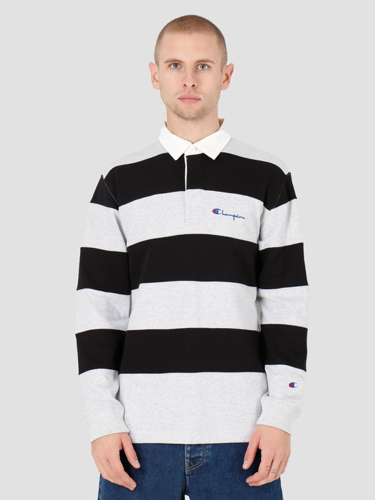 Champion Long Sleeve Polo T-Shirt LOXGM/NBK 213661