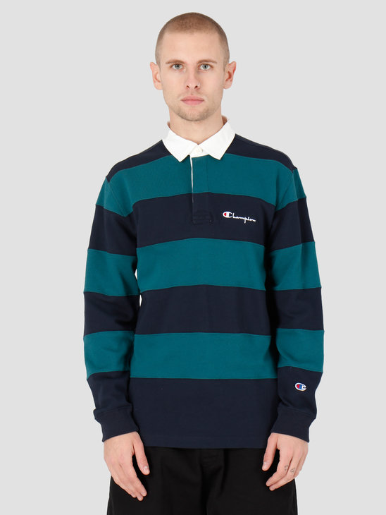 Champion Long Sleeve Polo T-Shirt NNY/TEL 213661