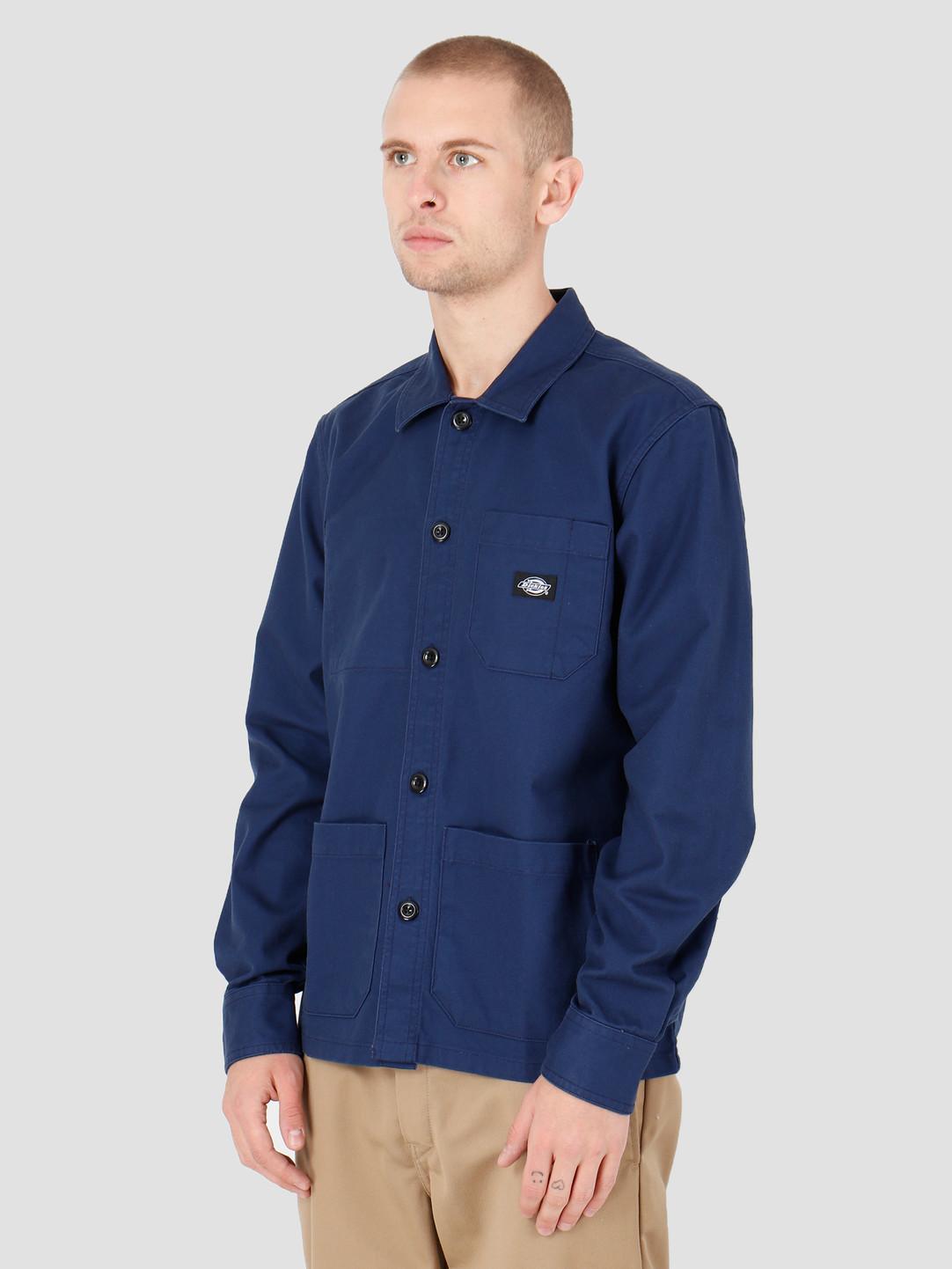 Dickies Dickies Caprock Shirt Deep Blue DK520359EL01