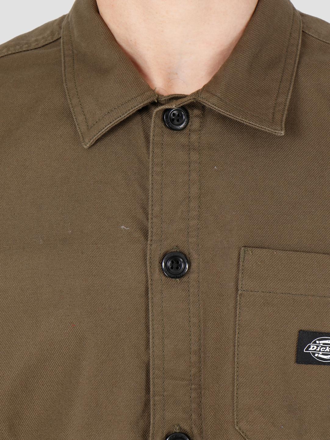 Dickies Dickies Caprock Shirt Dark Olive DK520359DKO1