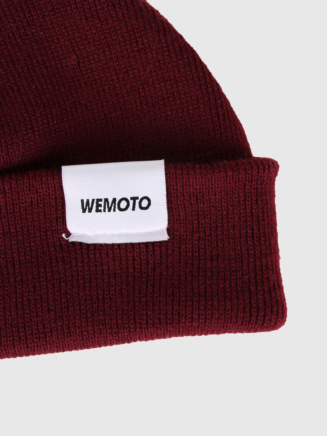 Wemoto Wemoto Shiloh Beanie Burgundy 143.810-501