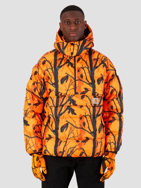 Carhartt WIP Jones Pullover Camo Tree Orange I026810