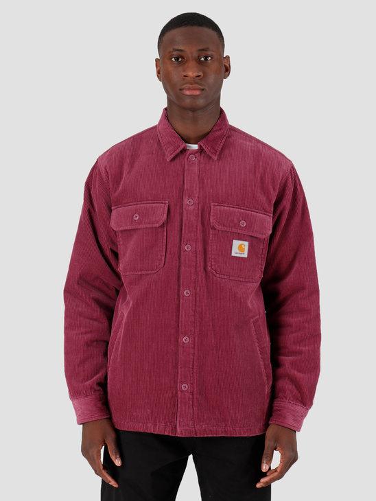 Carhartt WIP Whitsome Shirt Jacket Dusty Fuchsia I026814