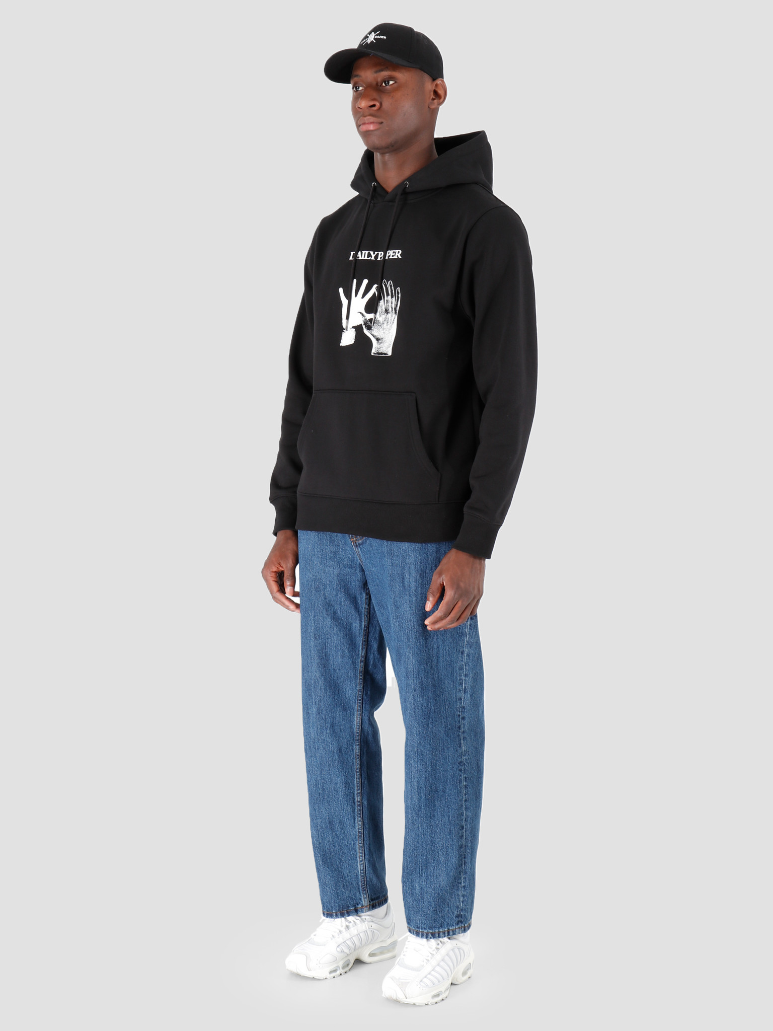 Daily Paper Daily Paper Gahand Hoodie Black 19F1HD15-01