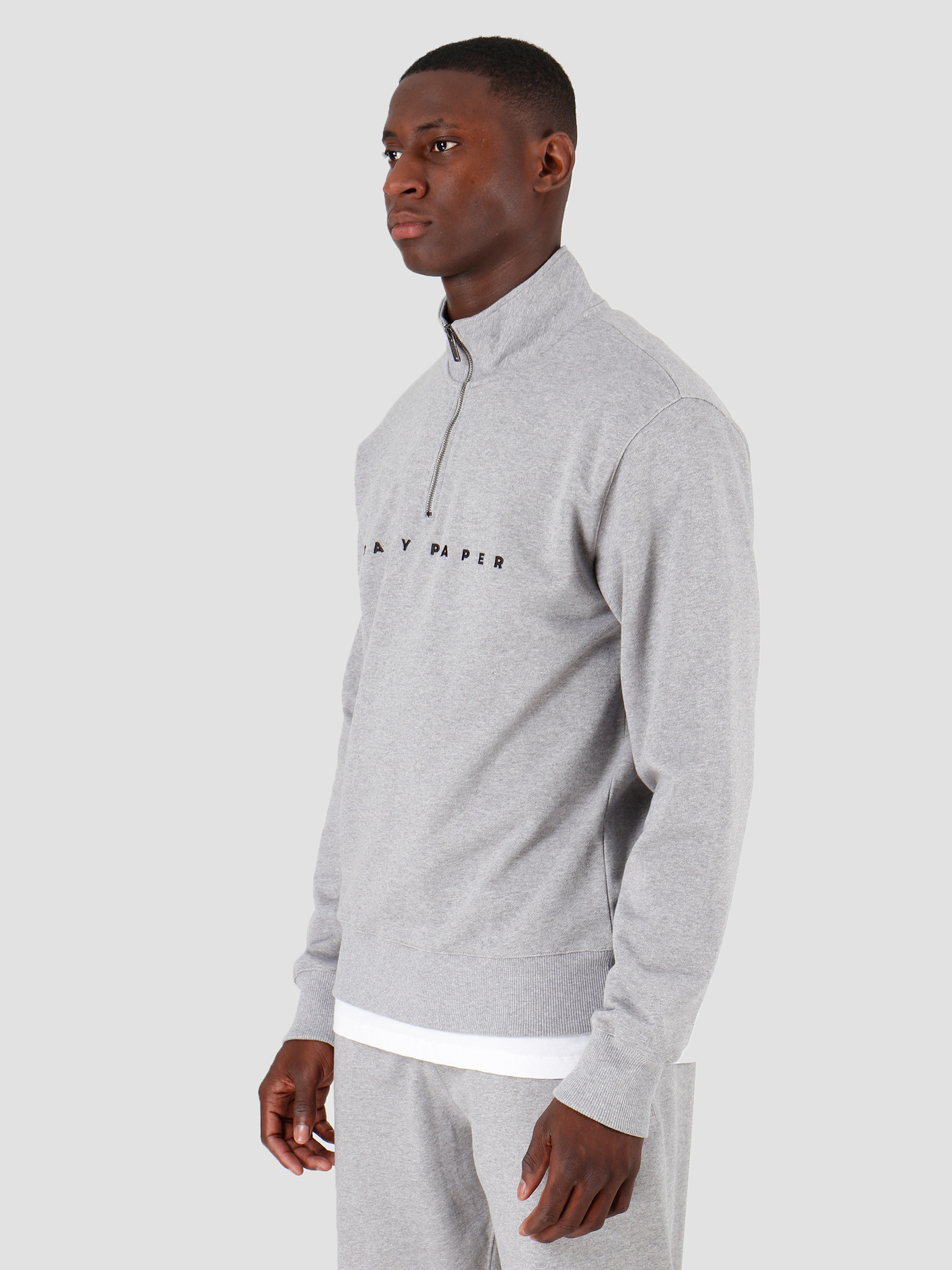Daily Paper Daily Paper Alias Pullover Grey Mel 19H1SW0202