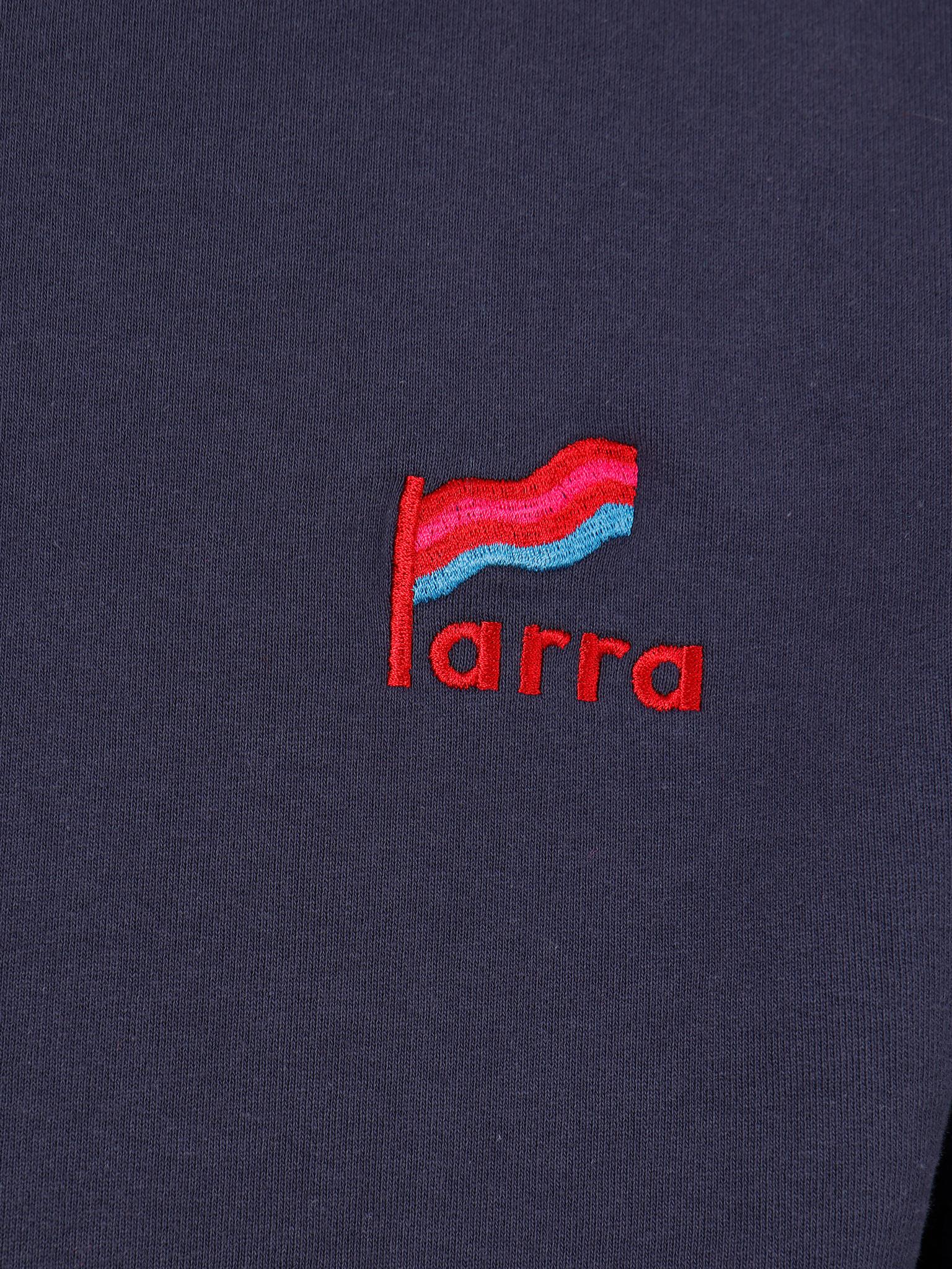 By Parra By Parra FlappingFlagCrewNeckSweater NavyBlue 43110