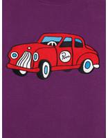 By Parra By Parra ToyCarCrewNeckSweater Purple 43090