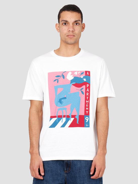 By Parra AppartmentNeinT-Shirt White 43070