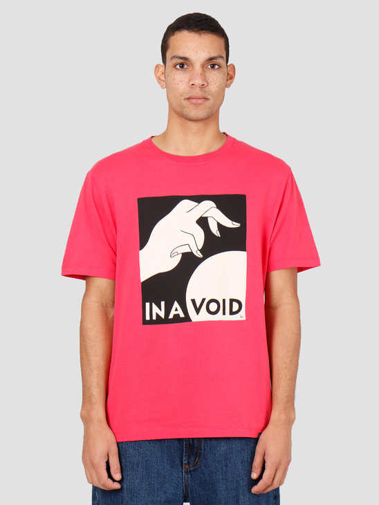 By Parra In A Void T-Shirt Coral Red 43080