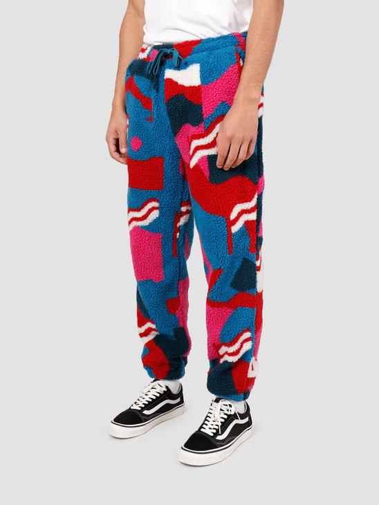 By Parra FlagMountainRacerSherpaFleece Pants Multicolor 43140
