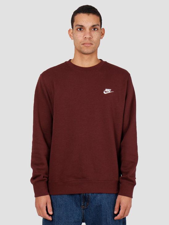 Nike Sportswear Club Crewneck El Dorado White Bv2662-233