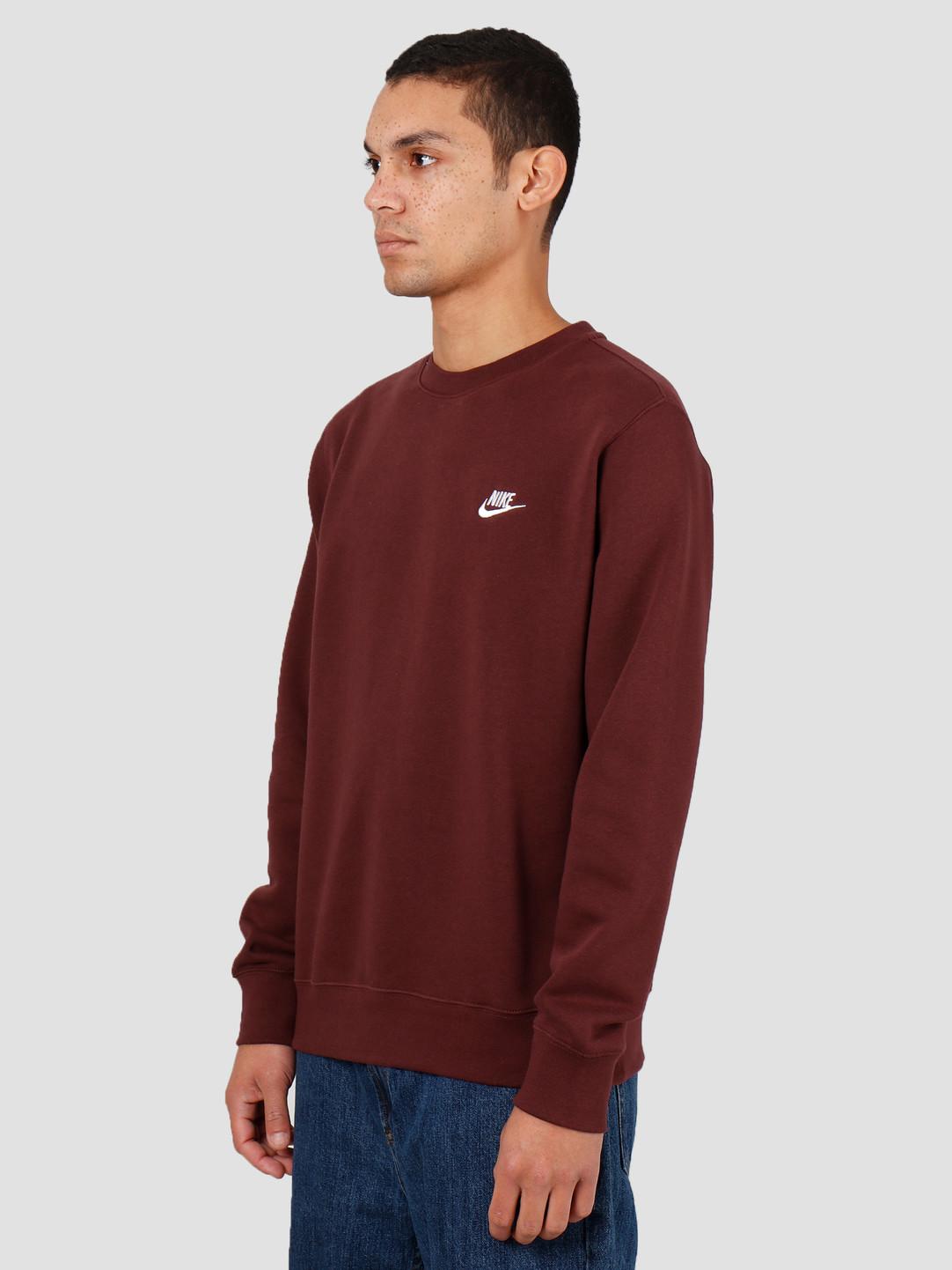 Nike Nike Sportswear Club Crewneck El Dorado White Bv2662-233