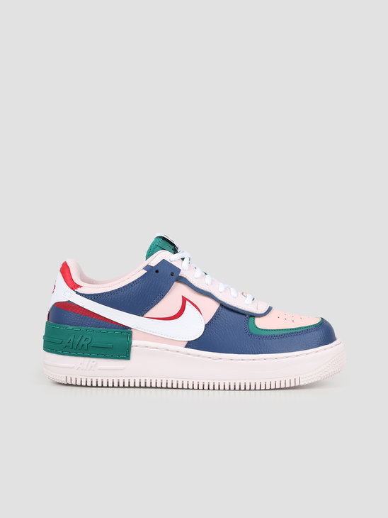 Nike W Af1 Shadow  Mystic Navy White Echo Pink Gym Red CI0919 400
