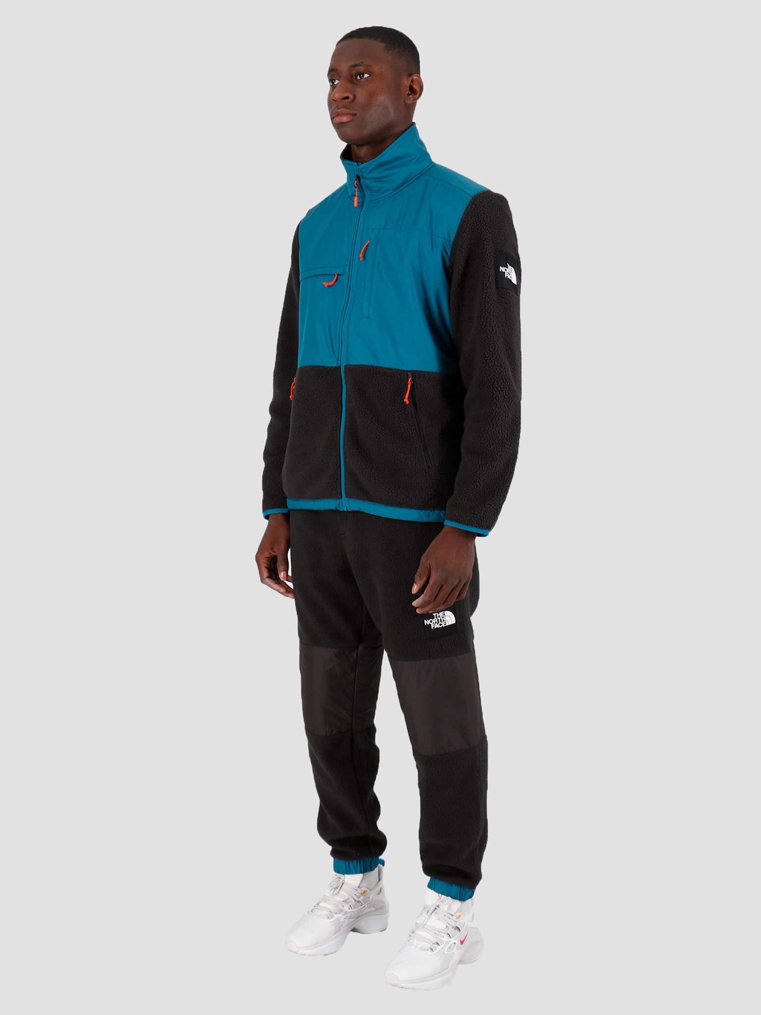 The North Face The North Face Denali Fleece Blue Coral Black T9381MES3