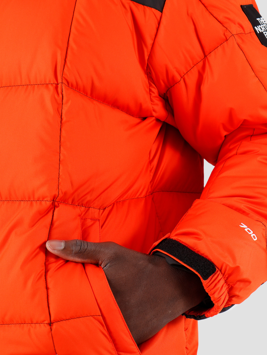 The North Face The North Face Lhotse Jacket Tangerine Tango T93Y233YQ