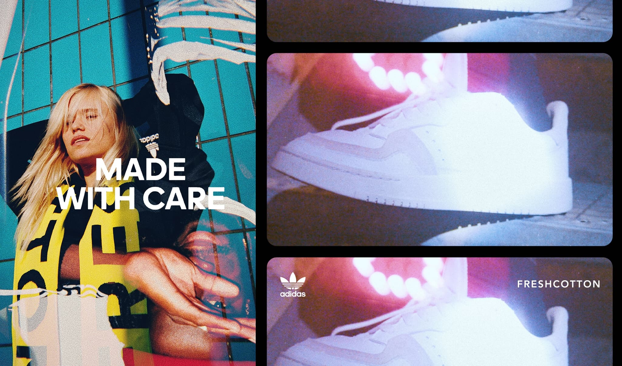 FRESHCOTTON | adidas | SUPERCOURT Journey