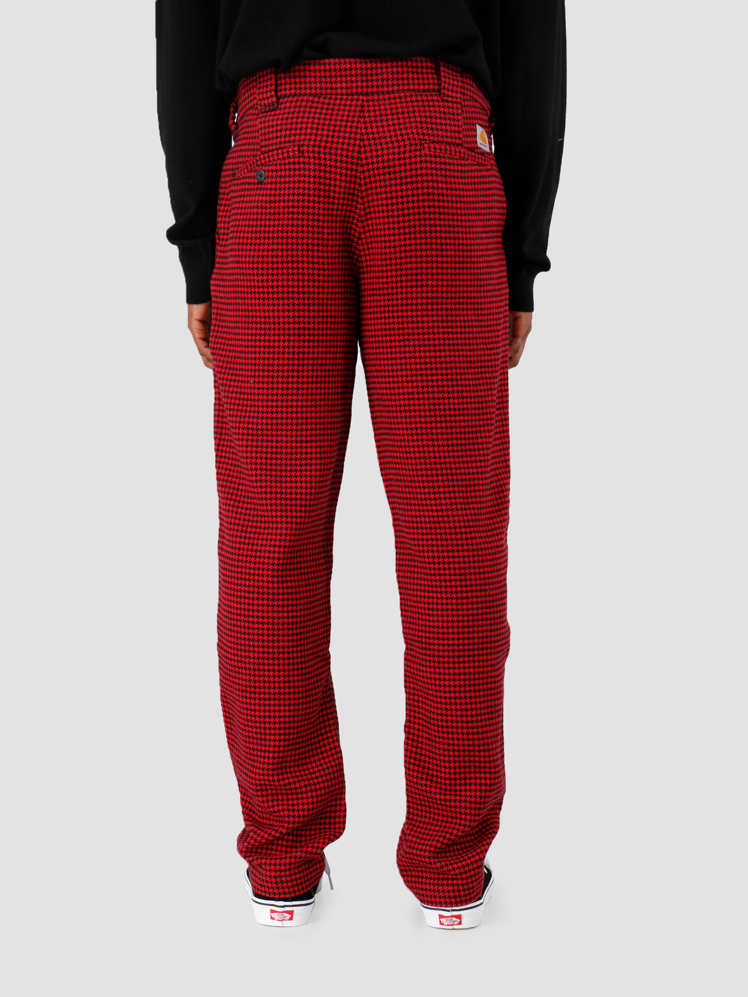 Carhartt WIP Carhartt WIP Norvell Pant Norvell Check Cardinal I027122