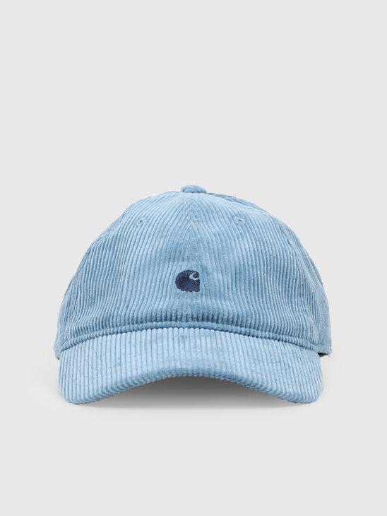 Carhartt WIP Harlem Cap Cold Blue Dark Navy I026890