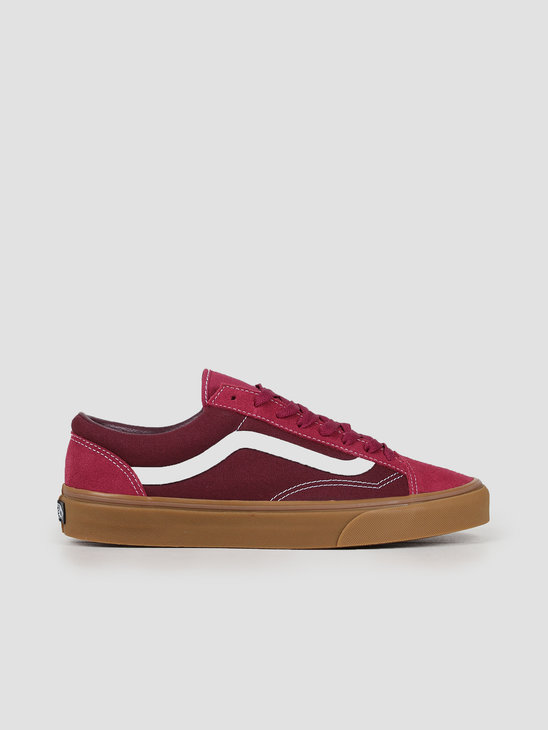 Vans Style 36 Gum Beet Red Port Royale VN0A3DZ3T651