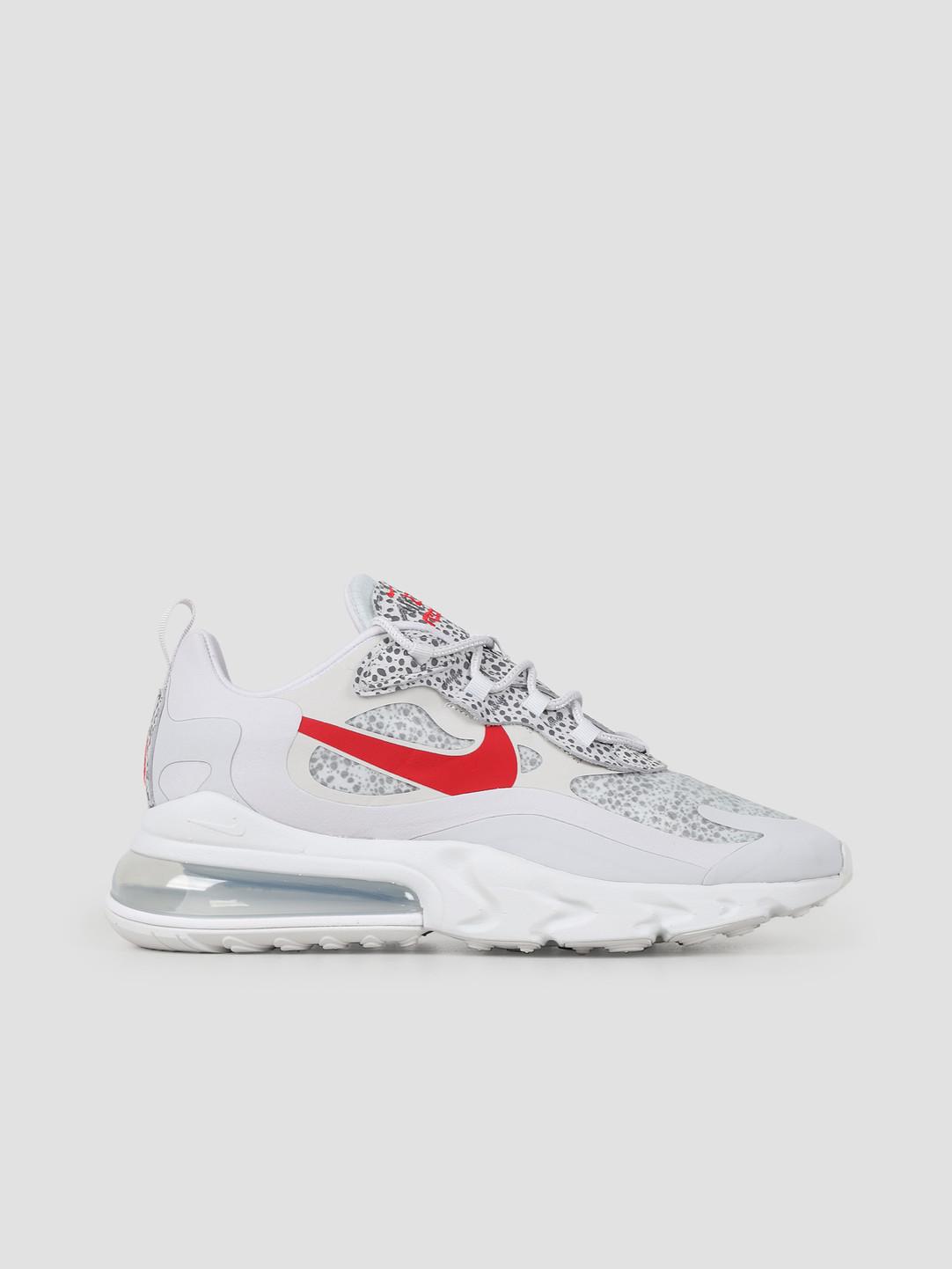 Nike Nike Air Max 270 React Neutral Grey University Red Lt Graphite CT2535 001
