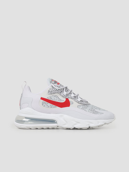 Nike Air Max 270 React Neutral Grey University Red Lt Graphite CT2535 001