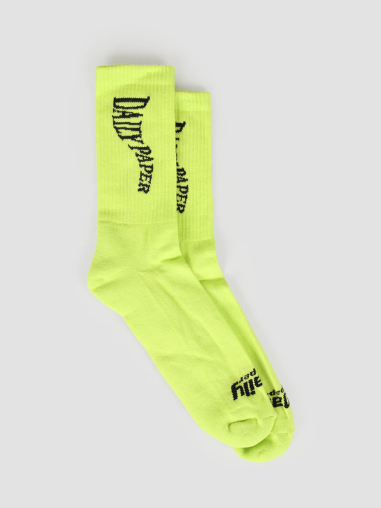 Daily Paper Gub Sock Lime Green 19F1AC19-01