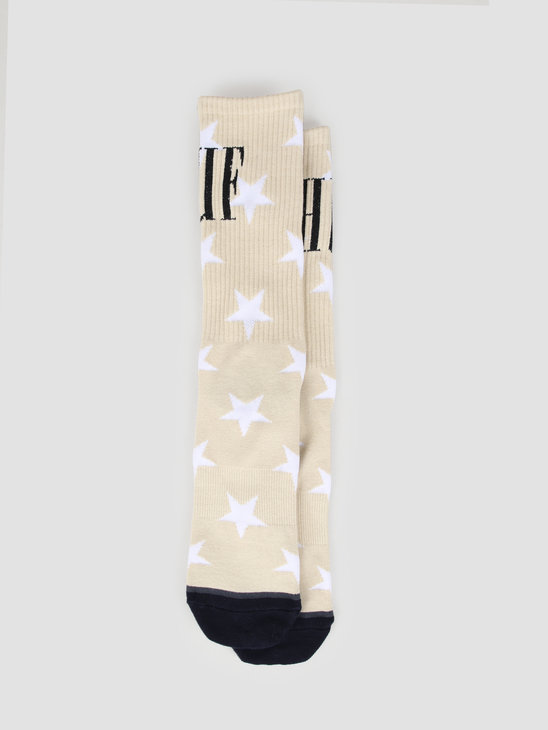 HUF Ziggy Sock Light Grey SK00374-LTGRA
