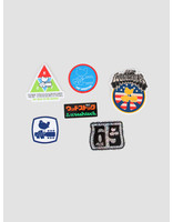 HUF HUF Woostock Sticker Pack Multi AC00326