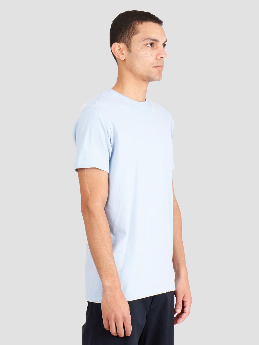 Kronstadt Kronstadt Basic T-Shirt Lt Blue KS2797
