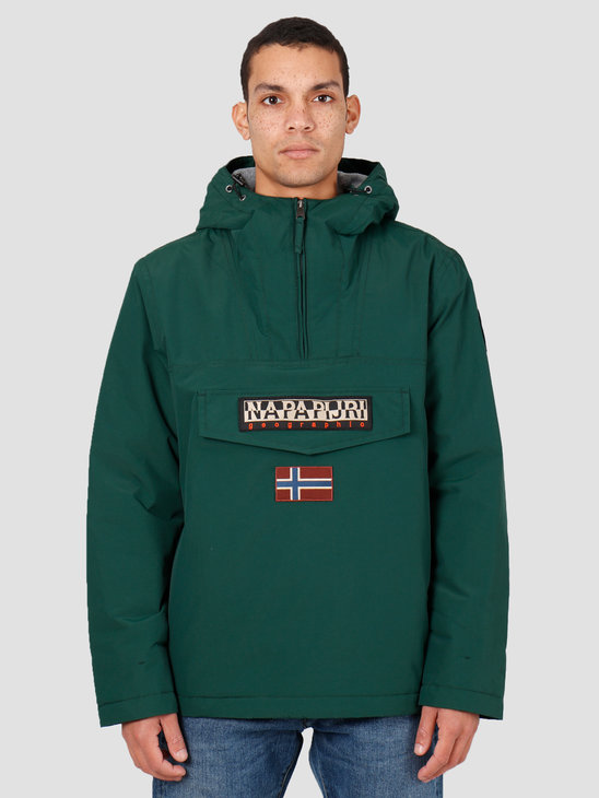 NAPAPIJRI Rainforest Winter 1 Anorak  Hunter Green 2 N0YGNJGD8