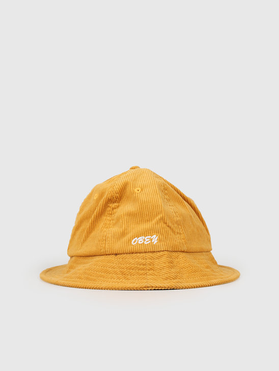 Obey Tenderly Bucket Hat Golden Palm 100520027-GPM
