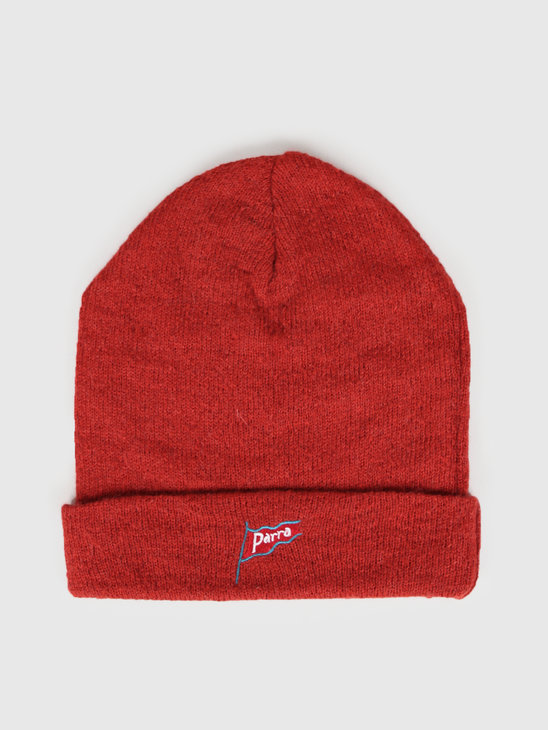 By Parra Flapping Flag Beanie Burnt Orange 43040