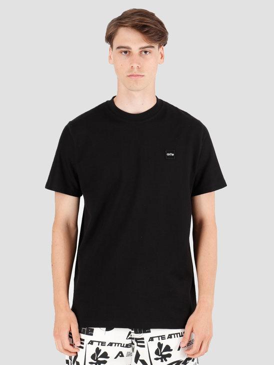 Arte Antwerp Tyler Patch T-Shirt Black AW19-073