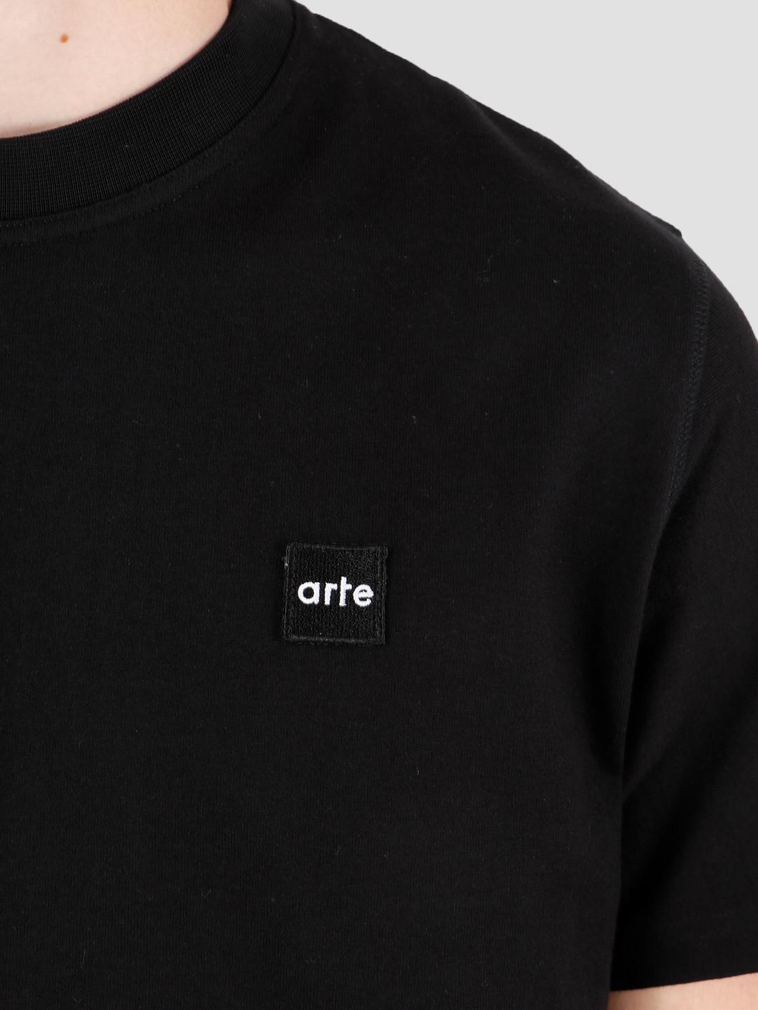 Arte Antwerp Arte Antwerp Tyler Patch T-Shirt Black AW19-073
