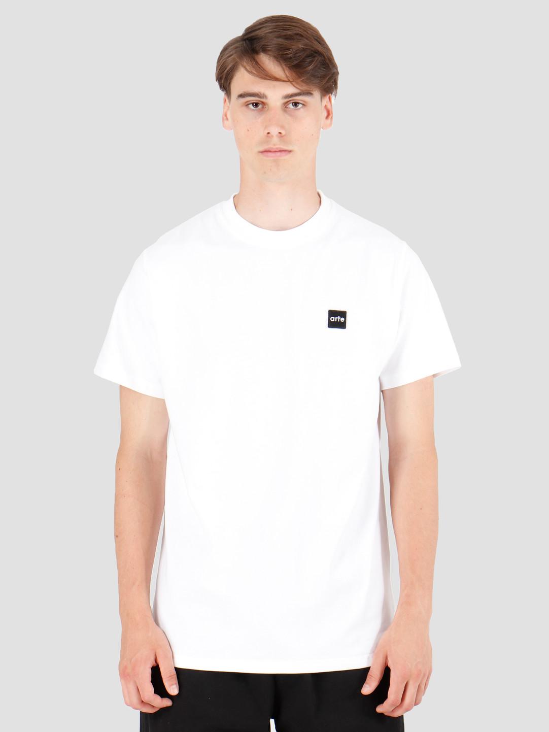 Arte Antwerp Arte Antwerp Tyler Patch T-Shirt White AW19-073