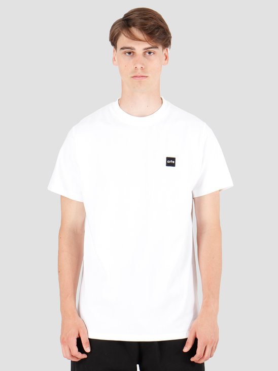 Arte Antwerp Tyler Patch T-Shirt White AW19-073