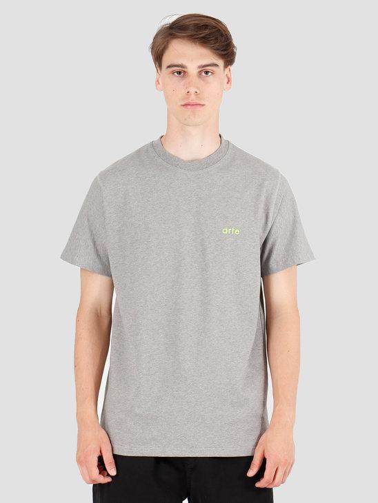 Arte Antwerp Tyler T-Shirt Grey AW19-048