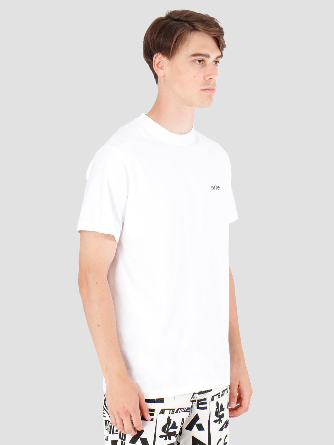 Arte Antwerp Arte Antwerp Tyler T-Shirt White AW19-048
