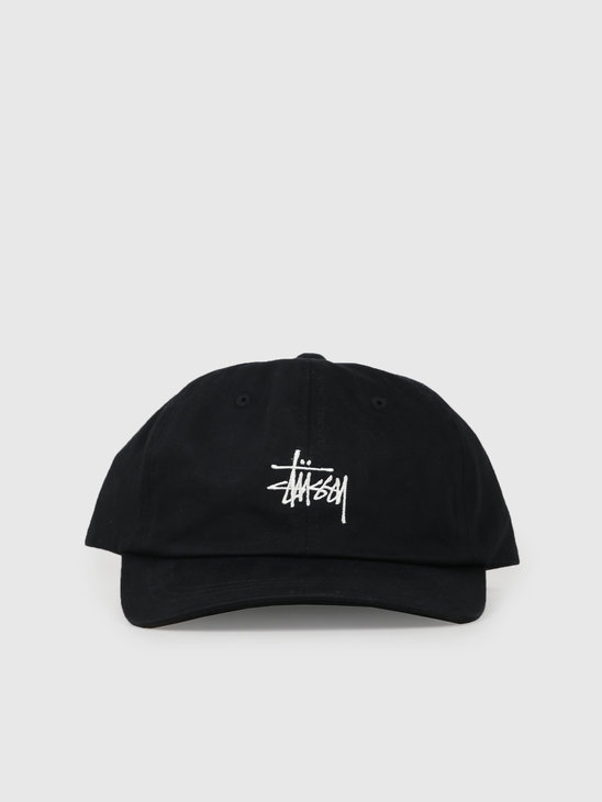 Stussy Ho19 Stock Low Pro Cap Black 131916