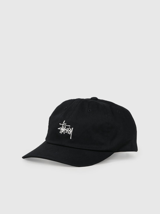 Stussy Ho19 Stock Low Pro Cap Black 131916