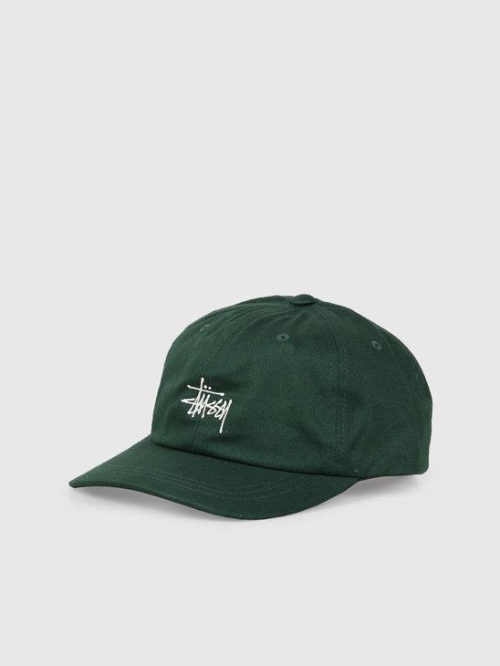 Stussy Ho19 Stock Low Pro Cap Green 131916