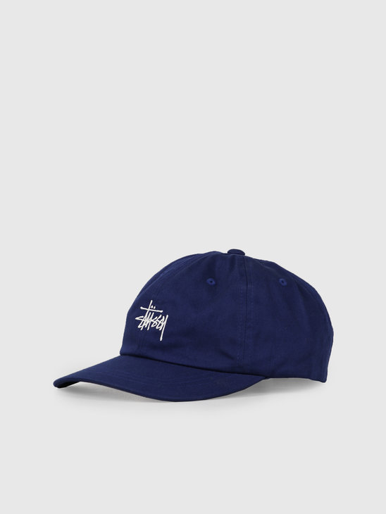 Stussy Ho19 Stock Low Pro Cap Navy 131916
