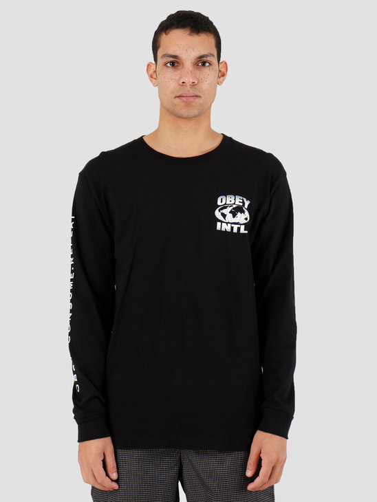 Obey OBEY Consume Repeat Intl. Black 164902149BLK