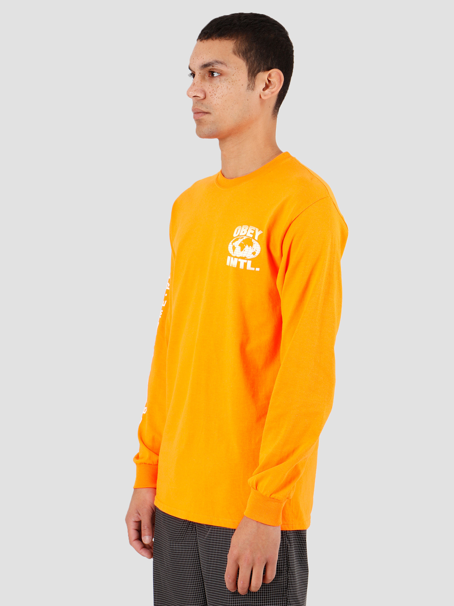 Obey Obey OBEY Consume Repeat Intl. Saftey orange 164902149SOR