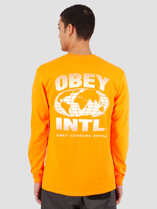 Obey OBEY Consume Repeat Intl. Saftey orange 164902149SOR