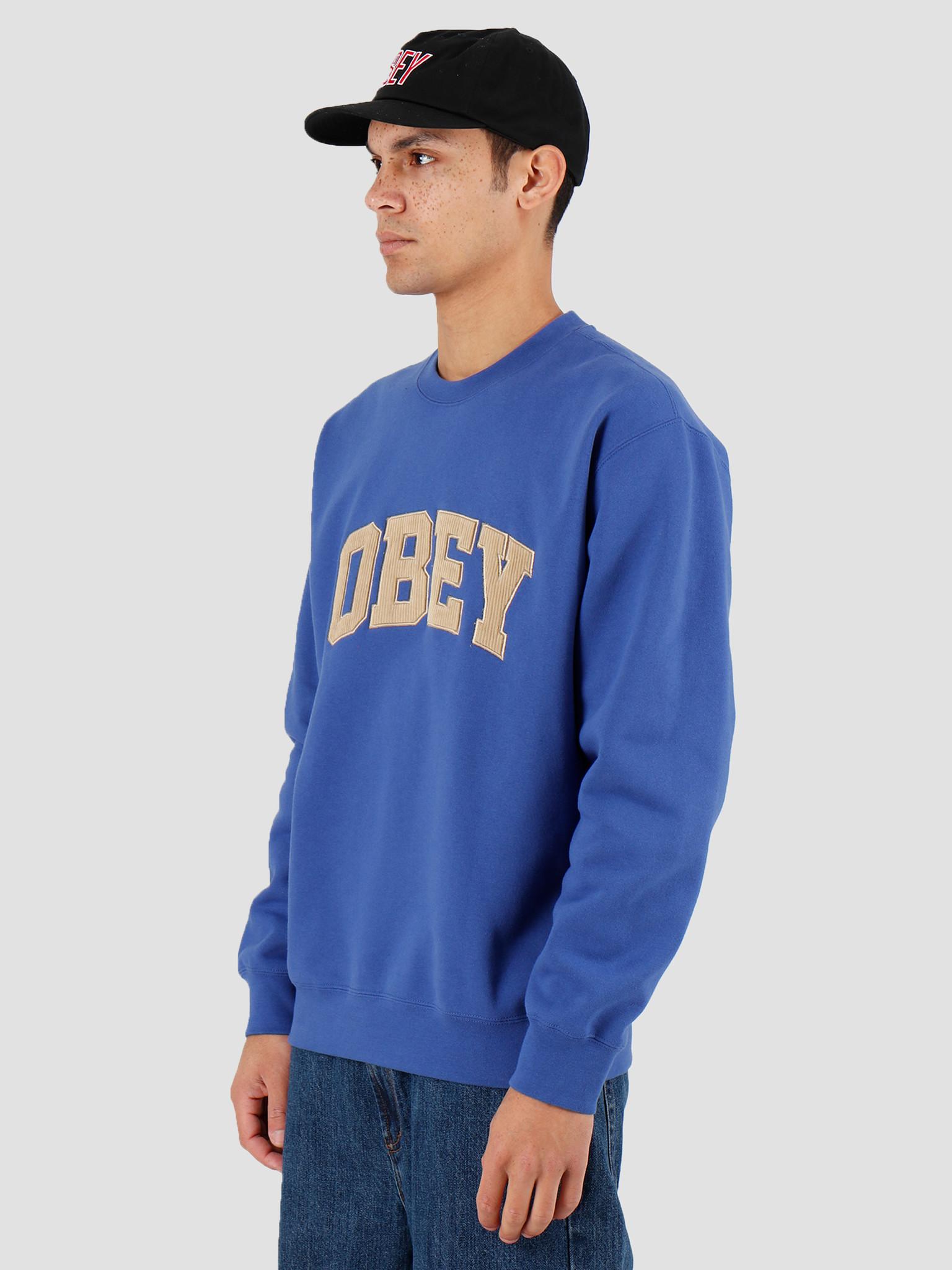 Obey Obey OBEY Uni Crew Blue 112480066BLU