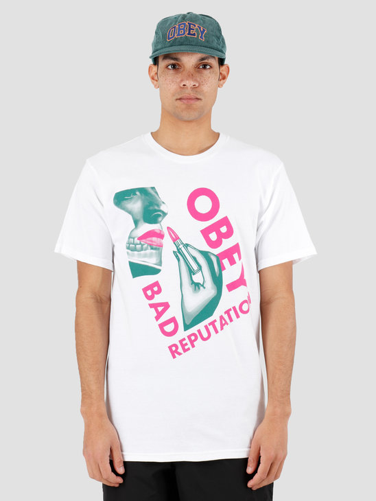 Obey Obey Bad Reputation White 163082157Wht