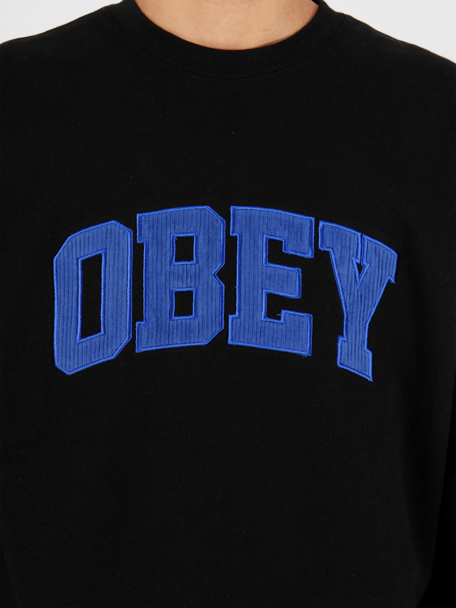 Obey Obey OBEY Uni Crew Black 112480066BLK