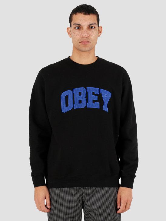 Obey OBEY Uni Crew Black 112480066BLK