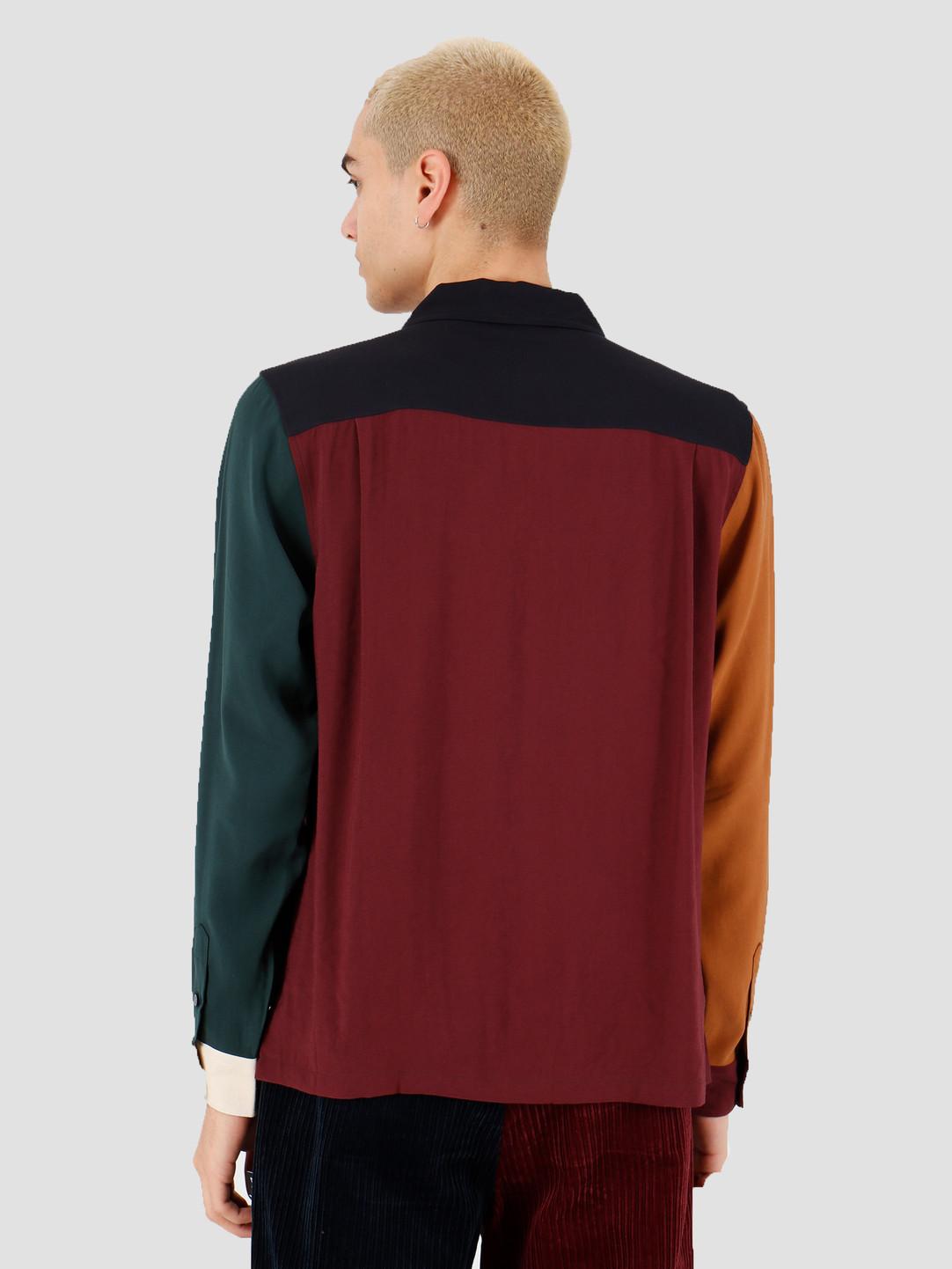 Stussy Stussy Color Block Rayon Shirt Multi 1110086
